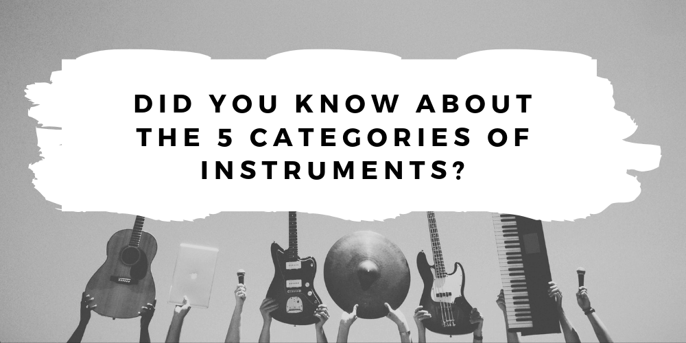 Did You Know About the 5 Categories of Instruments?